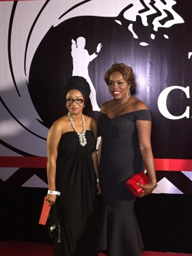 Unofficial christmas party red carpet