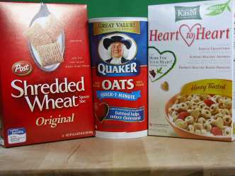 Low Sodium Heart Healthy Cereals