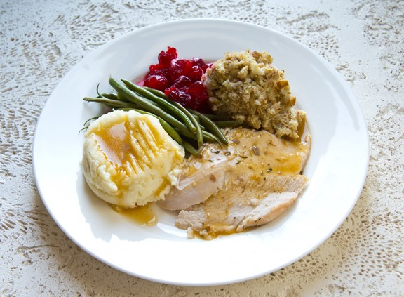 Photo Holiday Meal Holiday MyPlate