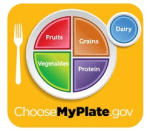 MyPlate is a great lunch resource