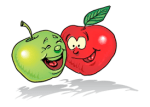 Be Happy. Like These Apples.