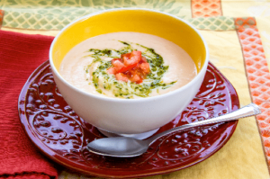 Tuscan White Bean Soup from Home Run Cooking