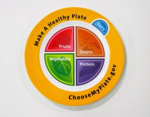 Actual MyPlate Plates