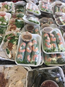 Spring Rolls and Other Takeout Options