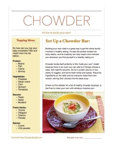 Build Your Own Chowder