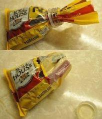 Bottle Top Food Savers (Food & Humor)