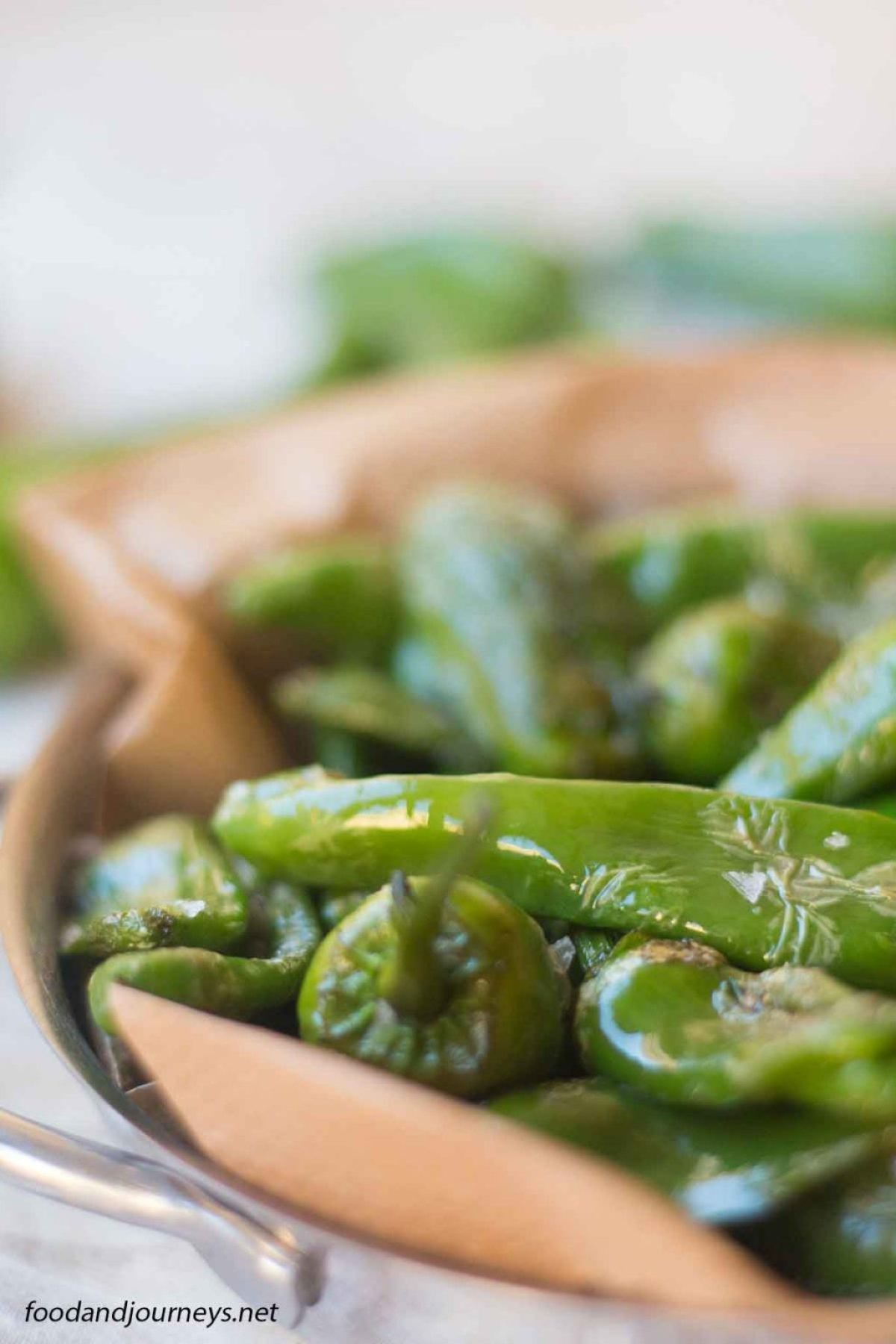 Fried Padron Green Peppers PIC2|foodandjourneys.net