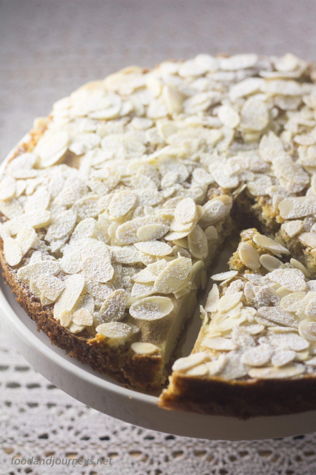 Pear and Almond Cake |foodandjourneys.net