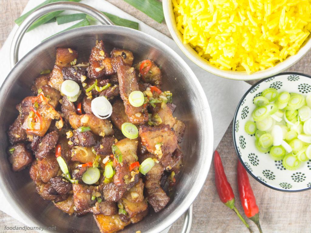 Salt and Pepper Pork Belly|foodandjourneys.net