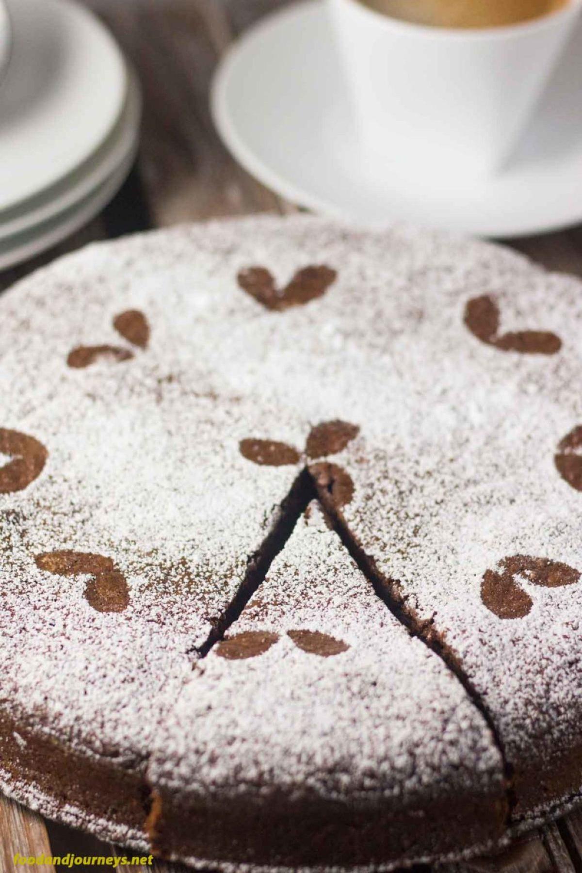Torta Caprese PIC1|foodandjourneys.net