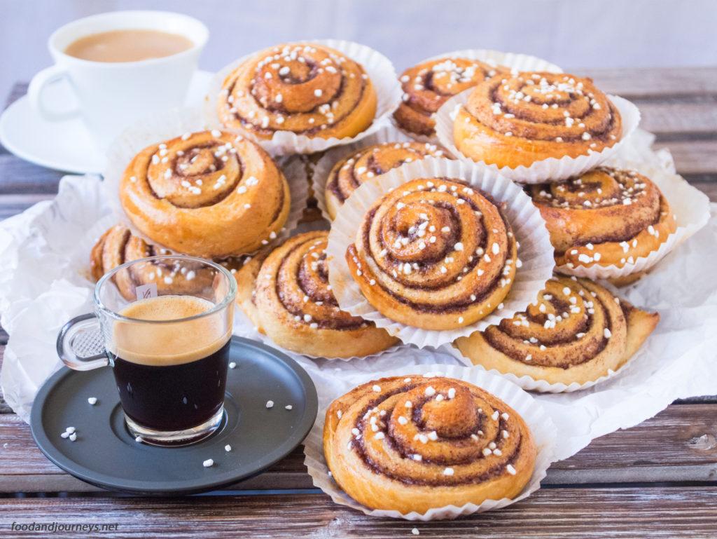 Swedish Cinnamon Buns (Kanelbullar)