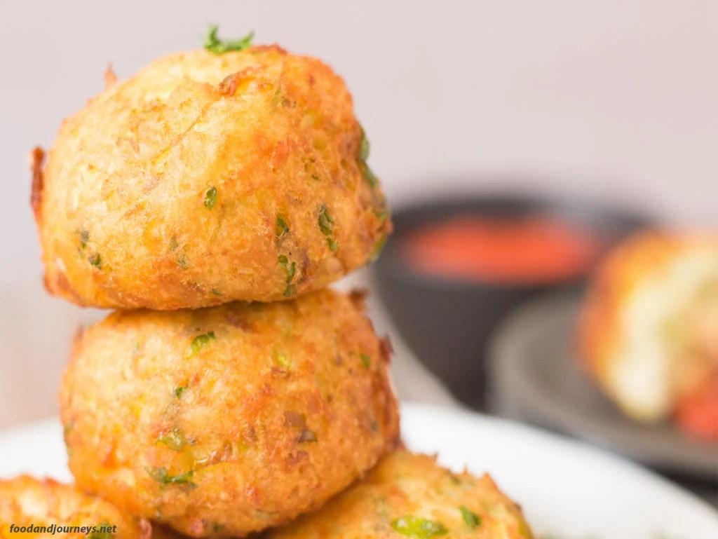 Potato and Zucchini Bites|foodandjourneys.net