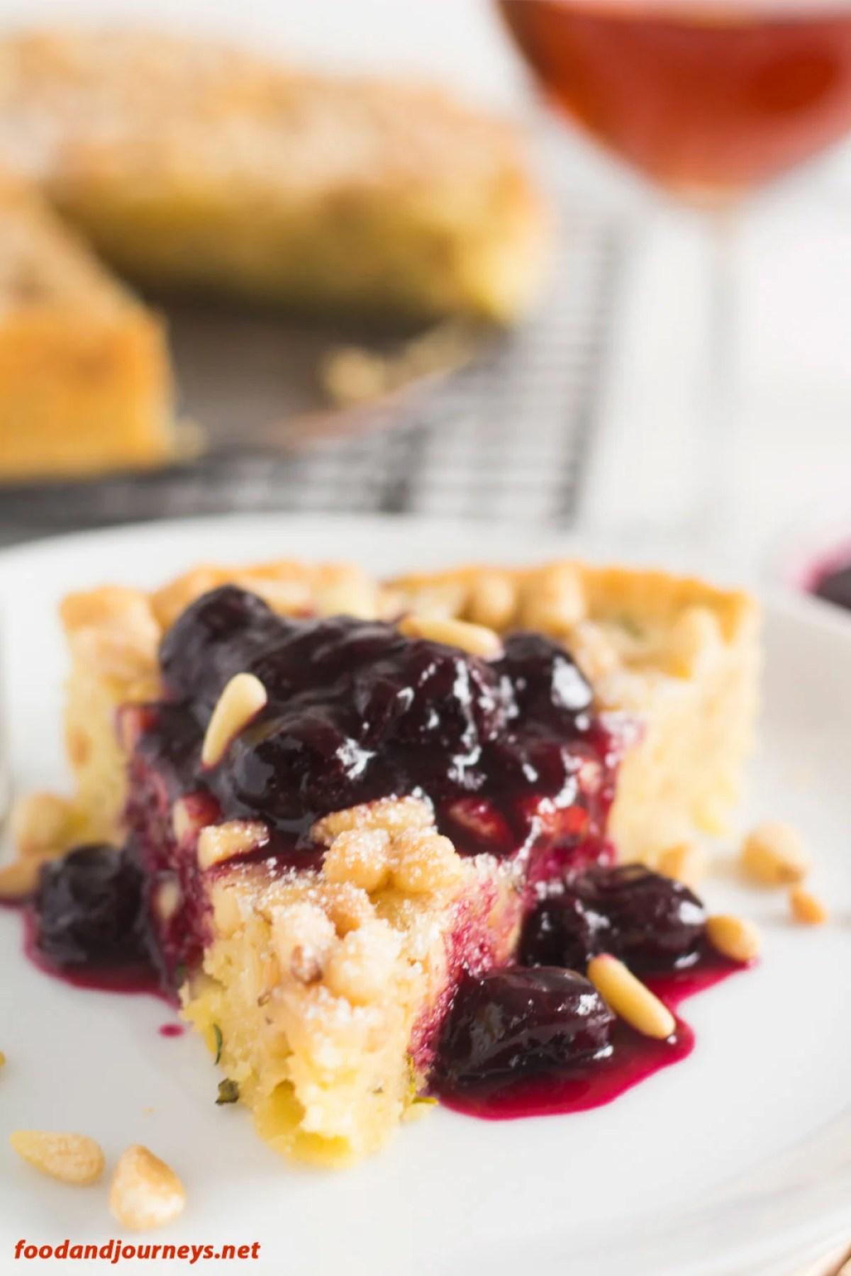 Italian Pine Nut Cake pic1|foodandjourneys.net