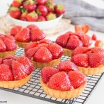 Swedish Strawberry & Elderflower Tartlets mpic