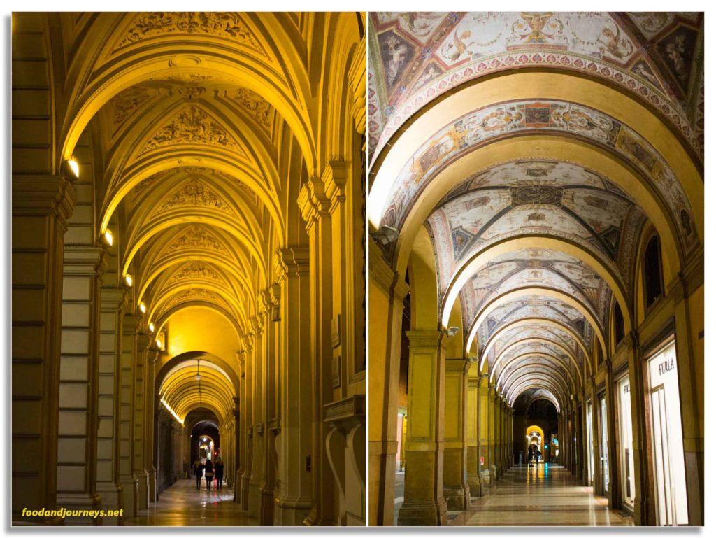 Bologna Italy Porticos|foodandjourneys.net