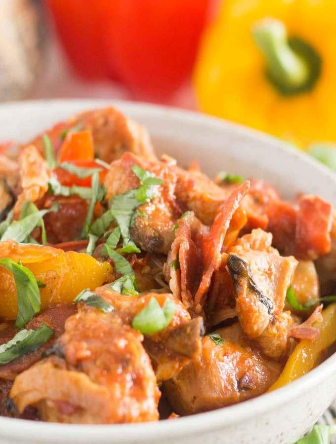 Roman Style Chicken Pollo alla Romana