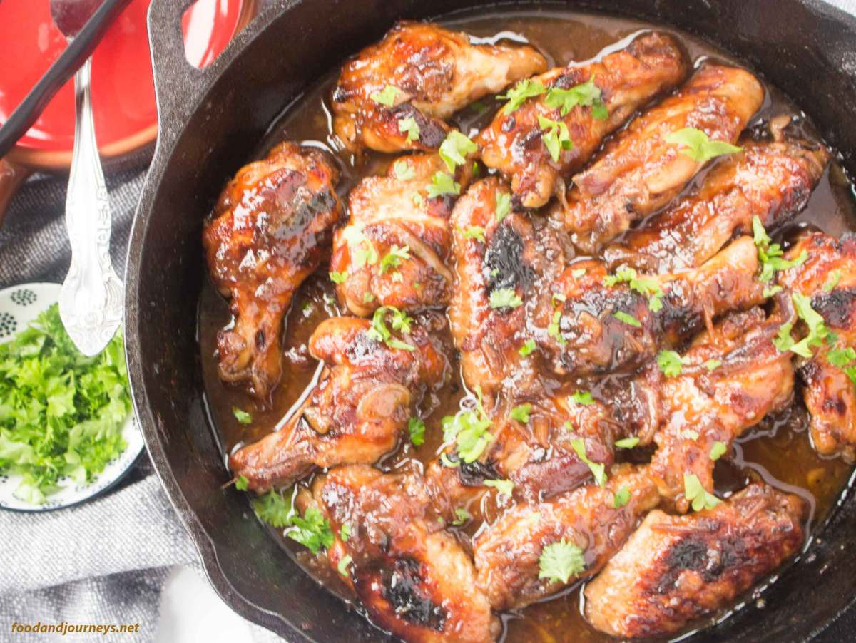Spanish Sweet & Sticky Wings