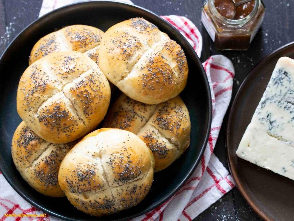 Danish Breakfast Buns (Rundstykker)