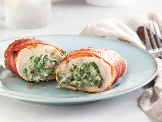 Chicken Breasts Stuffed with Walnuts and Swiss Chard