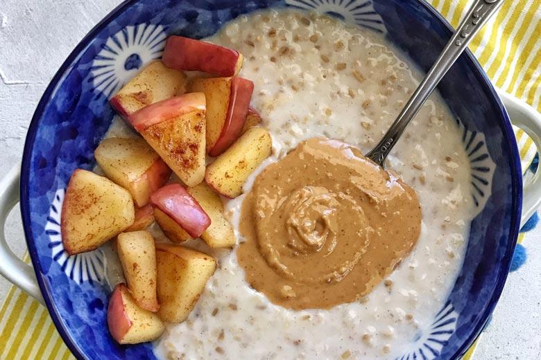 Apple Cinnamon Steel Cut Oats | Food & Nutrition | Stone Soup
