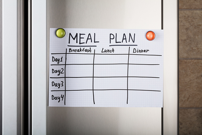 Daily Meal Plan Paper