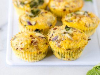 Bacon, Basil and Sun-Dried Tomato Egg Muffins | Food & Nutrition | Stone Soup