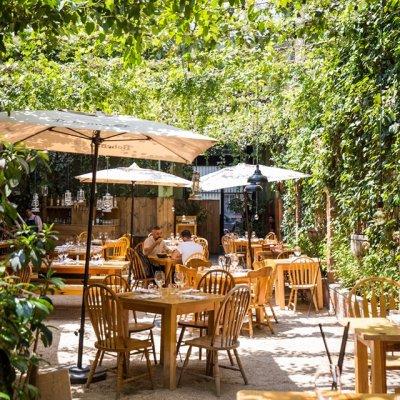 Los 14 restaurantes al aire libre más hermosos de la CDMX