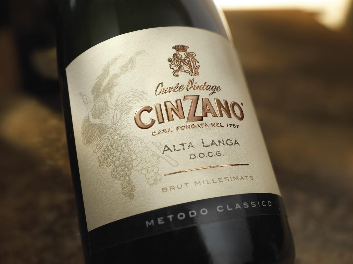 Alta Langa D.O.C.G. de Cinzano: Un vino espumoso nacido para celebrar