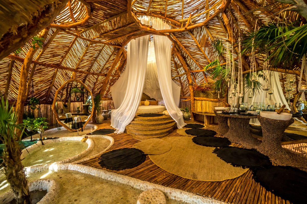 Los 5 hoteles más exóticos para hospedarte en México