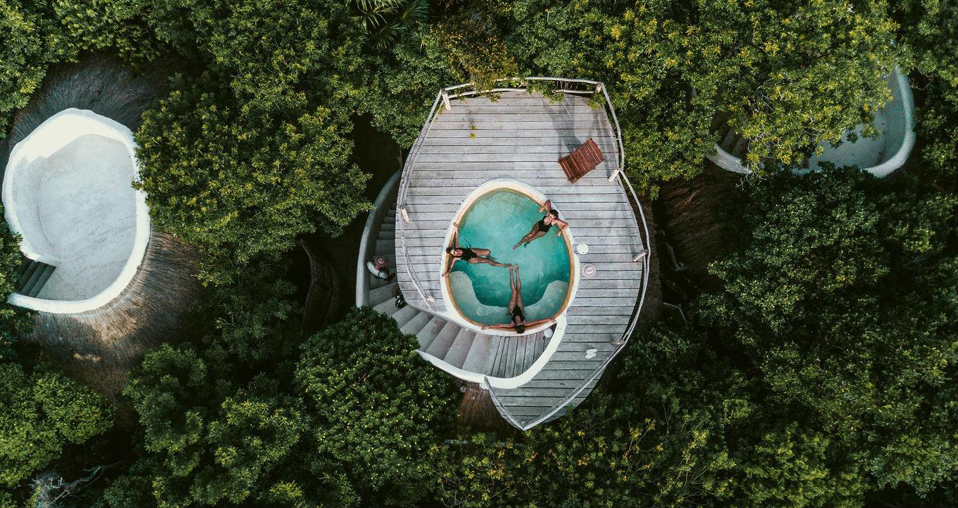 Las albercas entre los árboles de este hotel en México te harán desear estar ahí AHORA