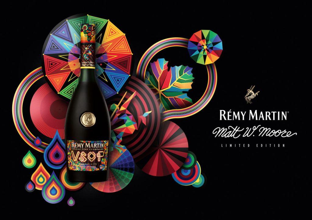Remy Martin: la botella de cognacconvertida en una obra de arte