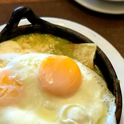 Los 8 mejores chilaquiles verdes de la CDMX