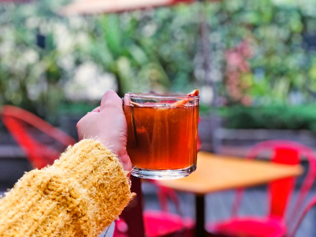 Apúntate al 'terraceo navideño' con bebidas calientes en Biergarten