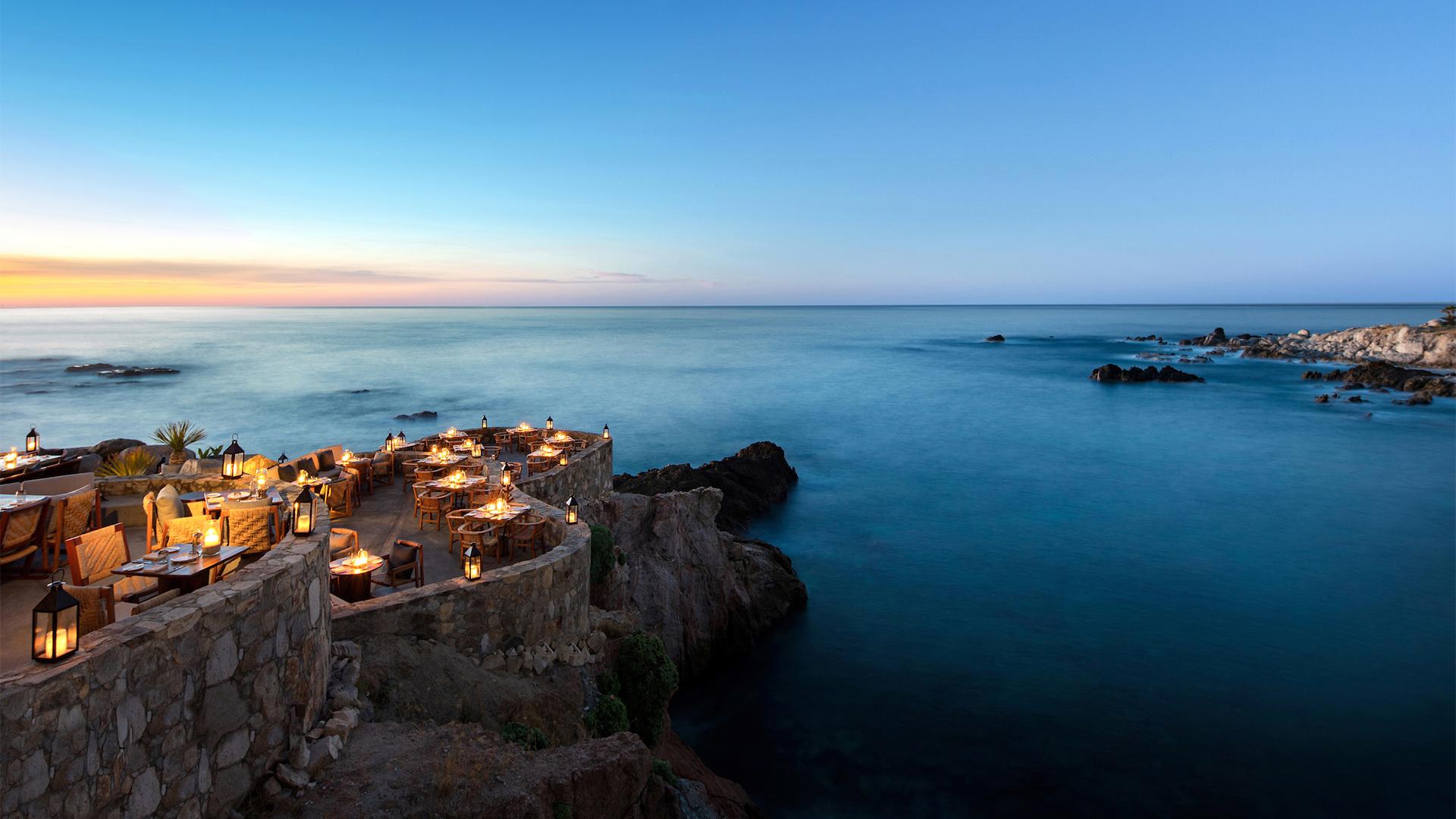 Los restaurantes con vista al mar más románticos de México