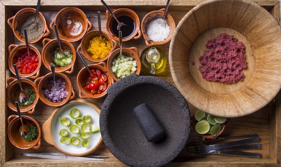 Raíz: cocina de herencia mexicana que honra al producto de origen en Polanco