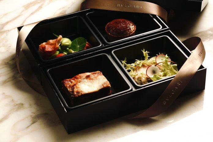 Bvlgari entrega cajas de comida a hospitales en Japón