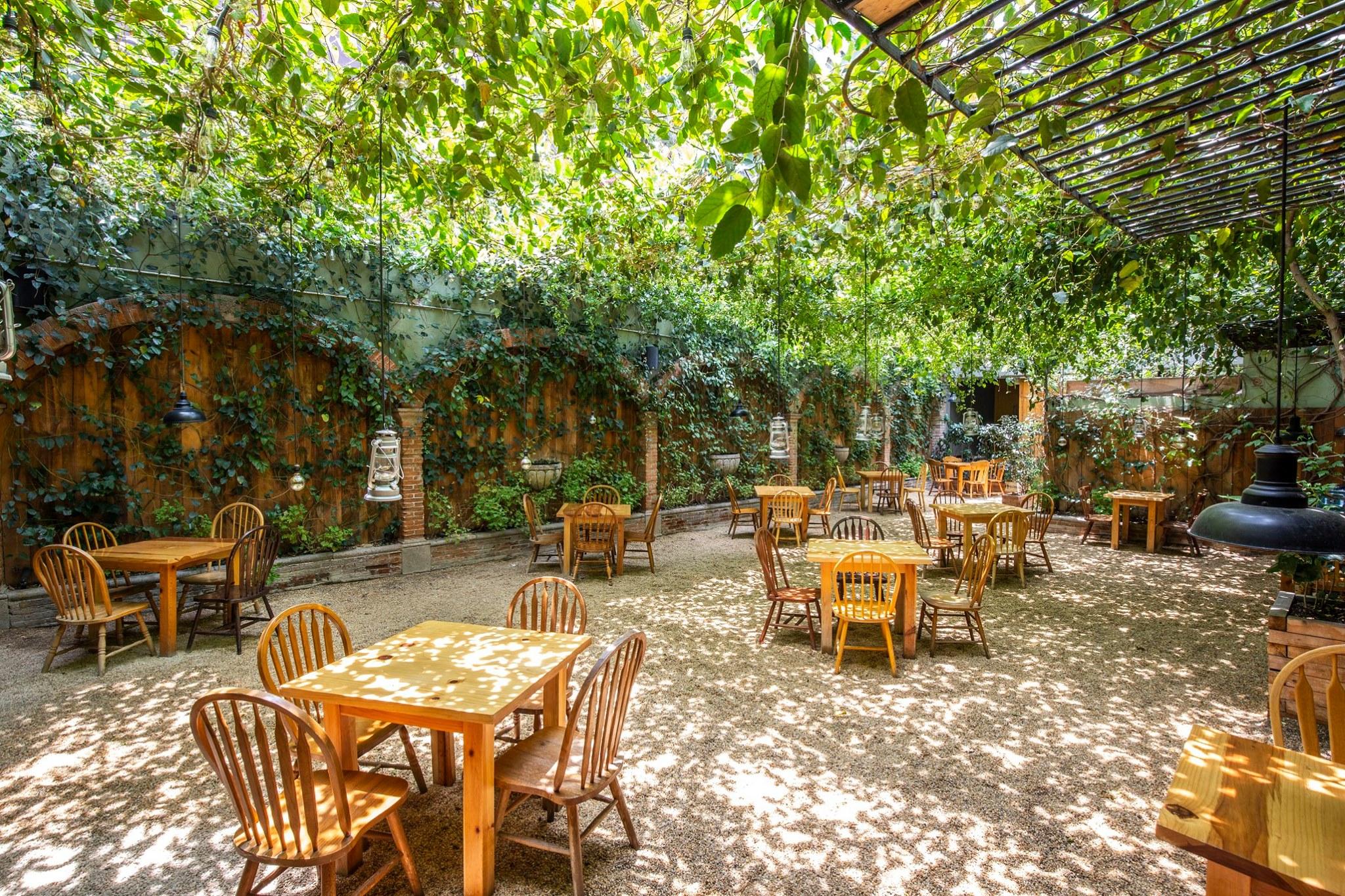 11 jardines y patios románticos para una cena de película en la CDMX