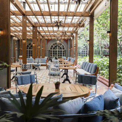 22 de los restaurantes al aire libre más bonitos de la CDMX (perfectos evitar contagios)