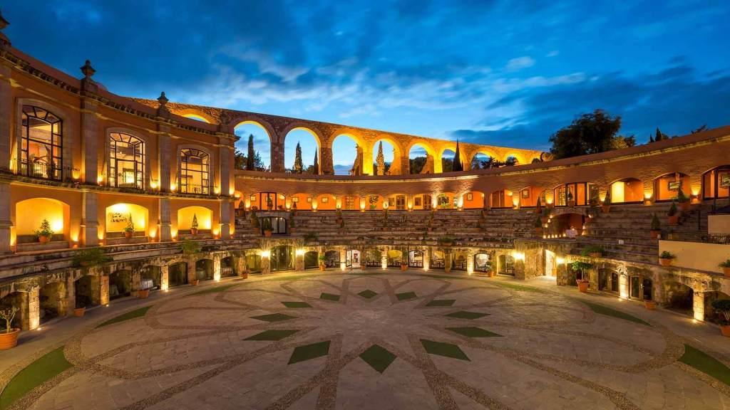 Este precioso hotel de México se encuentra construido en una antigua plaza de toros