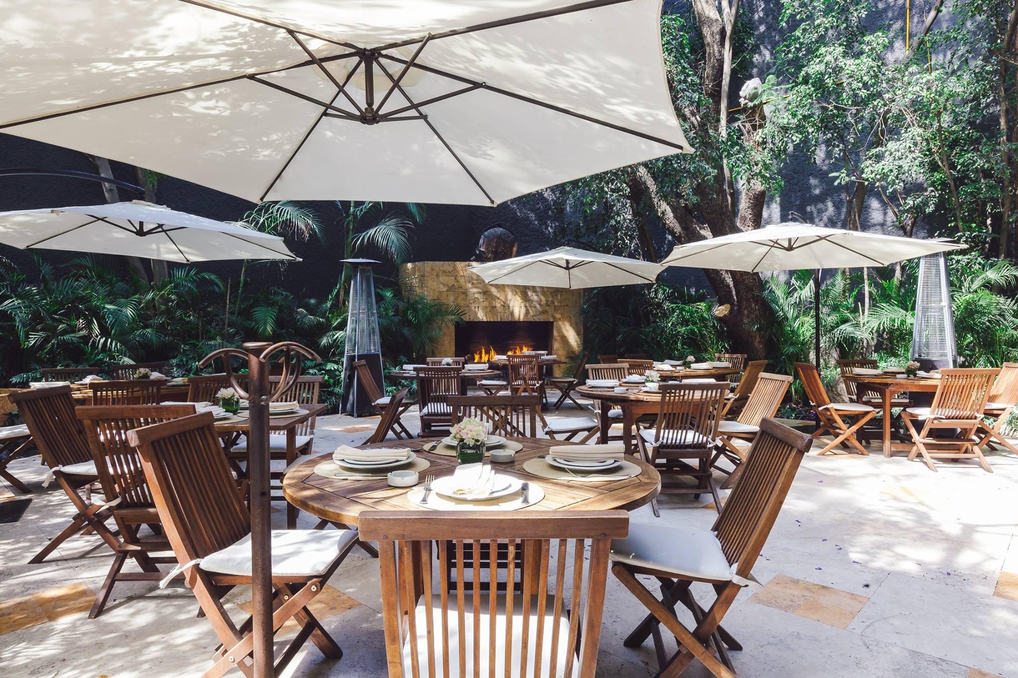 10 de los restaurantes al aire libre más bonitos y encantadores de San Ángel
