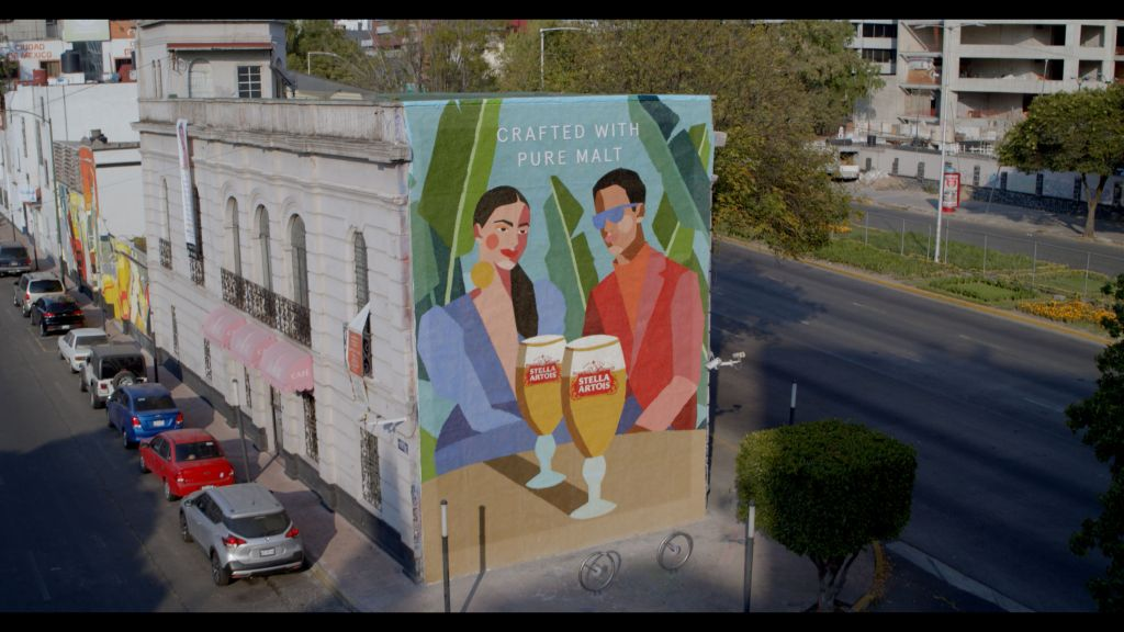 Stella Artois y Comedor Jacinta demuestran que la malta se puede convertir en arte
