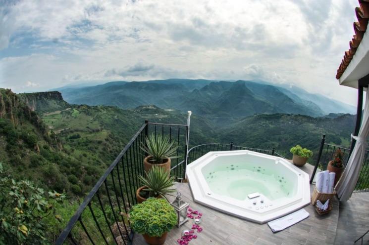 8 de los hoteles con los jacuzzi más espectaculares de México