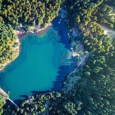 Visita esta presa escondida en un antiguo pueblo minero (a dos horas de la CDMX)