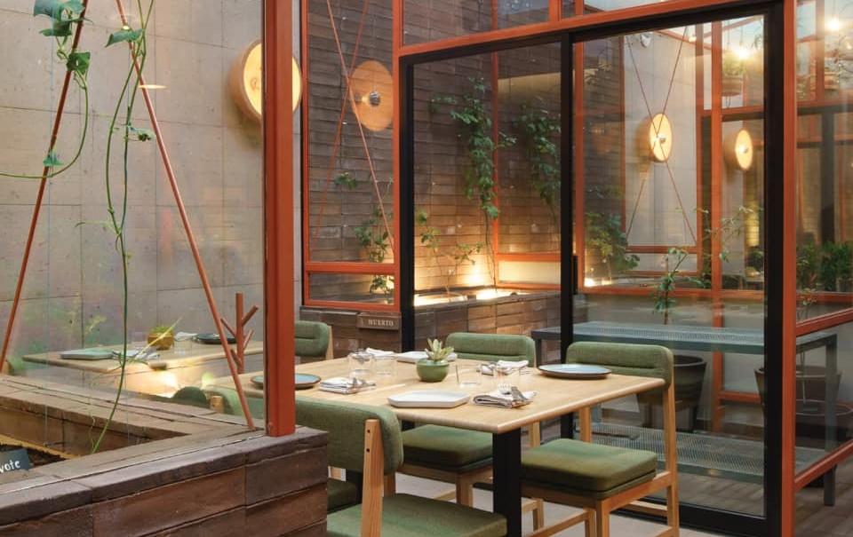 Vaivén gastronómico: el restaurante 'top' de Puebla que tiene un huerto secreto adentro