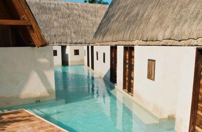 Punta Caliza: El hotel con increíbles pasillos de alberca está en Holbox