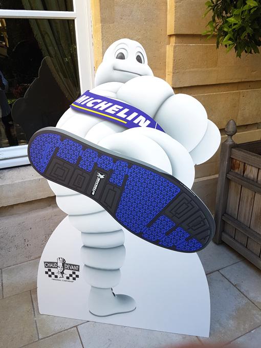 Michelin signe des pneus et des chaussures de cuisine de Chefs !
