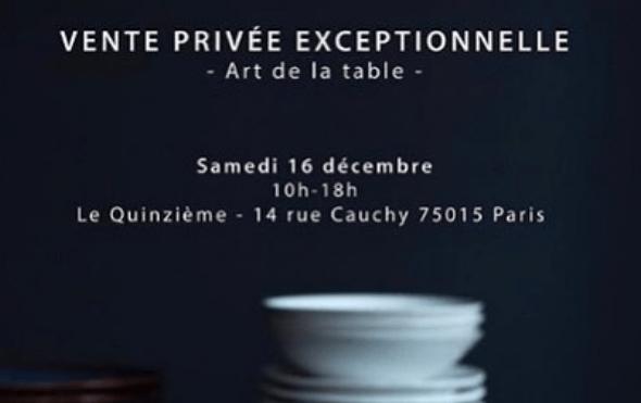 cyril lignac organise sa premiere vente privee a son restaurant le quinzieme food sens