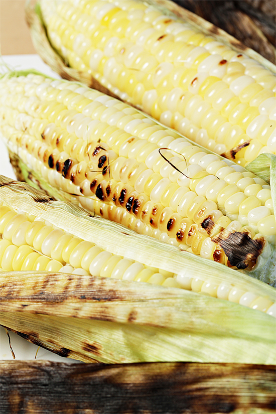In-Their-Husks Grilled Corn on the Cob
