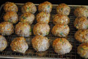 Healthier Ham Balls recipe