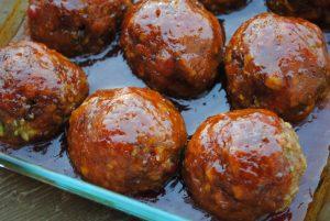 Healthier Ham Balls